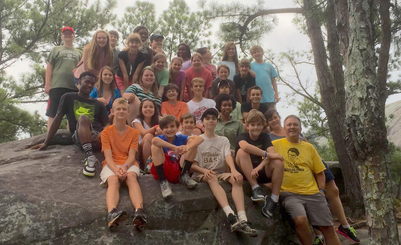 Middle School and High School Mission Trip