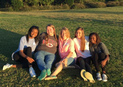 girls - chruch picnic