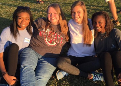 hs girls church picnic