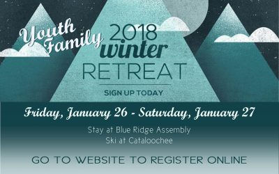 Youth Family December Events and 2018 Winter Retreat!