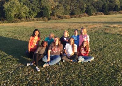 church picnic - ms girls-mc