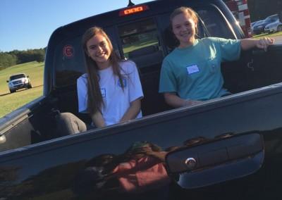 church picnic - truck