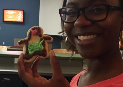 cookie decorating- sarah