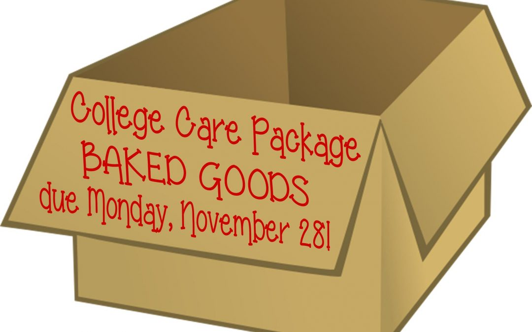 Baked Goods for College Care Packages
