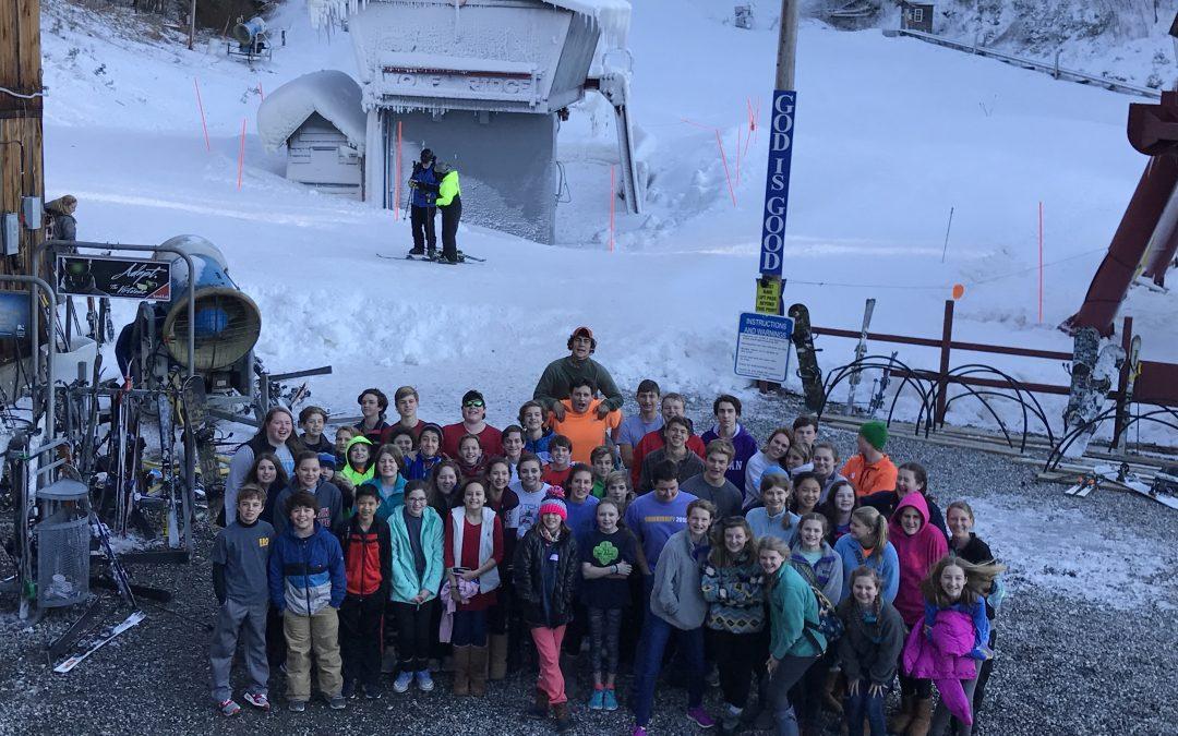 Youth Winter Retreat 2017 was Wonderful!
