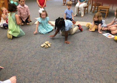 preschool stones