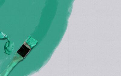 Beautiful Messes: Green Paint