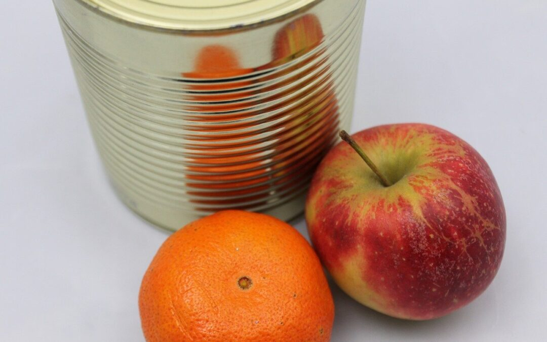 Canned Fruit Collection: Helping Our Neighbors through United Ministries' Food Pantry
